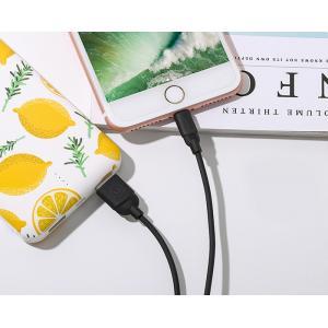 USAMS Καλώδιο USB σε Lightning US-SJ245, Ice-Cream, 1m, μαύρο   Αξεσουάρ κινητών   elabstore.gr