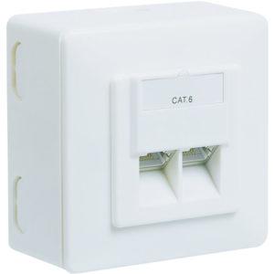 68244 CAT 6 D UNIVERSAL WHITE | ΔΙΚΤΥΑΚΑ | elabstore.gr
