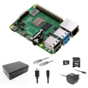 RASPBERRY RP4KIT 1GB Raspberry Pi 4 1 GB Starter Kit + NOOBS Software Tool | ΥΠΟΛΟΓΙΣΤΕΣ / ΑΝΑΒΑΘΜΙΣΗ | elabstore.gr