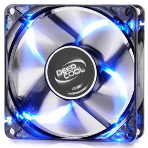 DEEPCOOL WINDBLADE 80 BLUE COOLING FAN 80mm LED | ΥΠΟΛΟΓΙΣΤΕΣ / ΑΝΑΒΑΘΜΙΣΗ | elabstore.gr