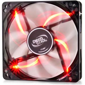 DEEPCOOL WINDBLADE 120 RED COOLING FAN 120mm RED LED | ΥΠΟΛΟΓΙΣΤΕΣ / ΑΝΑΒΑΘΜΙΣΗ | elabstore.gr