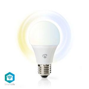 NEDIS WIFILW10WTE27 WiFi Smart LED Bulb, Warm to Cool White, E27 | ΔΙΚΤΥΑΚΑ | elabstore.gr