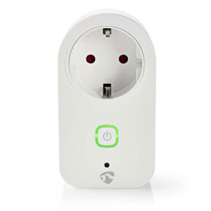 NEDIS WIFIP120FWT WiFi Smart Plug, Power Monitor, Schuko Type F, 16A | ΔΙΚΤΥΑΚΑ | elabstore.gr