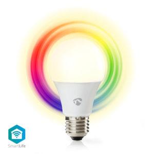 NEDIS WIFILC11WTE27 WiFi Smart RGB LED Bulb Full Colour and Warm White E27 | ΔΙΚΤΥΑΚΑ | elabstore.gr