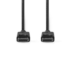 NEDIS CCGT37010BK20 DisplayPort 1.2 Cable DisplayPort Male DisplayPort Male 2.0 | ΚΑΛΩΔΙΑ / ADAPTORS | elabstore.gr