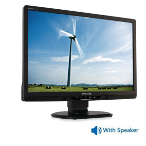 "Used Monitor 225B2 TFT/Philips/22""/1680 x1050/Black/With Speakers/D-SUB & DVI-D & USB HUB 