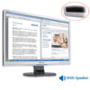 """Used Monitor (A-) 220BW TFT/Philips/22""""/1680 x1050/Silver/Black/With Speakers/D-SUB & DVI-D & USB Hu 