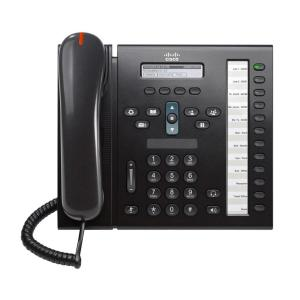 CISCO used Unified IP Phone 6961, POE, Dark Gray | Εξοπλισμός IT | elabstore.gr