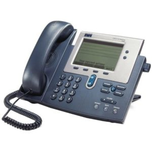 CISCO used IP Phone CP-7940G, Dark Gray | Εξοπλισμός IT | elabstore.gr
