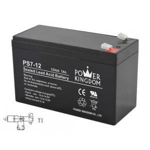 POWER KINGDOM μπαταρία μολύβδου PS7-12-T1, 12Volt 7Ah, T1 | Τροφοδοσία Ρεύματος | elabstore.gr