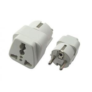 POWERTECH adapter German type σε universal PT-349, CCA | Τροφοδοσία Ρεύματος | elabstore.gr