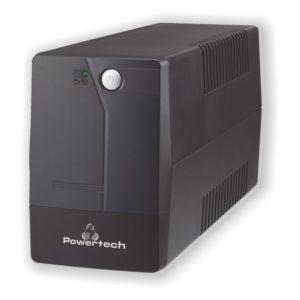 POWERTECH UPS Line Interactive PT-850, 850VA/510W | Τροφοδοσία Ρεύματος | elabstore.gr