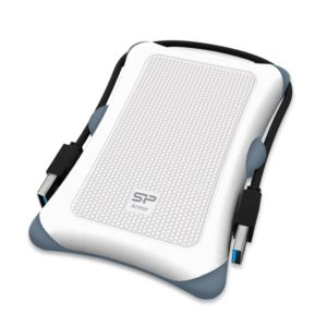 SILICON POWER εξωτερικός HDD 1TB Armor A30, USB 3.1, λευκό | PC & Αναβάθμιση | elabstore.gr
