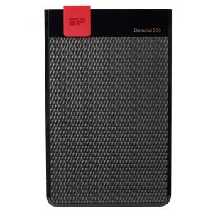 SILICON POWER Εξωτερικός HDD 1TB Diamond D30 D3S, USB 3.1, Black | PC & Αναβάθμιση | elabstore.gr