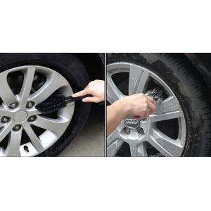 AMIO Βούρτσα καθαρισμού ζαντών αυτοκινήτου 01740, 26cm, μαύρη   Gadgets   elabstore.gr