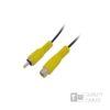 1.5M M/F 1RCA Plug To 1RCA Jack Nickel | Ήχου & Εικόνας | elabstore.gr