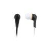 Ακουστικό Earphone w/Flat Cable Μαύρο | Περιφερειακά | elabstore.gr
