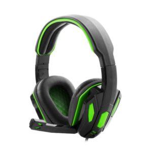 Snake Ακουστικό με μικρόφωνο gaming πράσινο EGH340 | Gaming | elabstore.gr