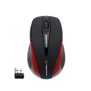 Business series 2.4Ghz ασύρματο οπτικό ποντίκι μαύρο/κόκκινο EM101R | Περιφερειακά | elabstore.gr