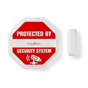 NEDIS ALRMD20WT Door/Window alarm with magnetic sensor batteries included | SECURITY | elabstore.gr