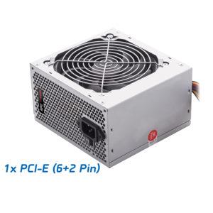 Τροφοδοτικό RPC 550W ATX 1x6pin PCI-E 12cm Black Fan 55P00P | Τροφοδοτικά H/Y | elabstore.gr