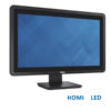 Used Monitor (A-) E2014T LED/Dell/20/1600 x 900/Black/VGA & 2 x HDMI & DisplayPort & USB HUB-D | Refurbished | elabstore.gr
