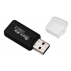 POWERTECH mini card reader PT-893, SD card mini, μαύρος | Συνοδευτικά PC | elabstore.gr