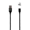 Καλώδιο Lightning USB Φόρτισης-Data Magnetic Braided 3.5A QC 2.0 1m Μαύρο NSP | Περιφερειακά | elabstore.gr