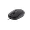 MU001 Well Ενσύρματο Ποντίκι 3D USB μαύρο 800dp MOUSE-USB-MU001BK-WL | Περιφερειακά | elabstore.gr