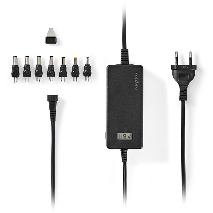 NEDIS ACPA105 Universal AC Power Adapter 5 to 24 V DC 3.0 A max.   ΜΠΑΤΑΡΙΕΣ / ENERGY   elabstore.gr