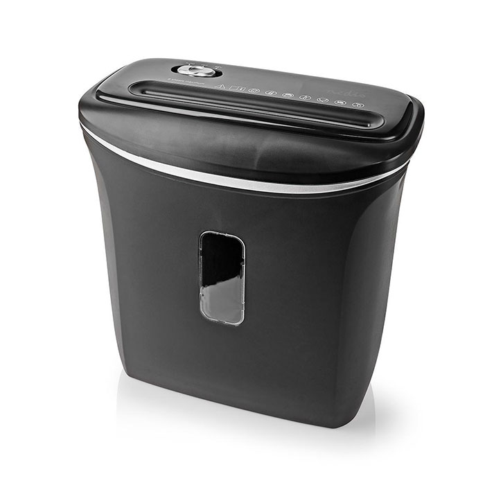 NEDIS PASH120BKA4 A4 Paper Shredder 12 Litre Capacity DIN-P4 Security | ΗΛΕΚΤΡΟΝΙΚΑ / ΕΡΓΑΛΕΙΑ | elabstore.gr
