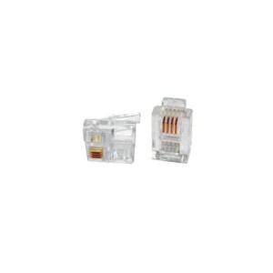 Connector Rj11 (6P4C) | Δικτυακά & Τηλεφωνίας | elabstore.gr