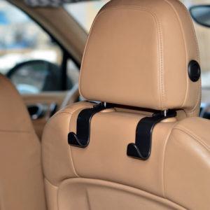 Κρεμάστρα αυτοκινήτου CAR-0007 για το προσκέφαλο, μαύρη, 2τμχ   Gadgets   elabstore.gr