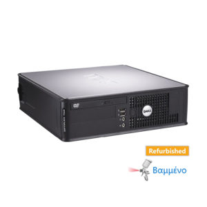 Dell 760 SFF C2D-E8400/4GB DDR3/160GB/DVD Grade A Refurbished PC | Refurbished | elabstore.gr
