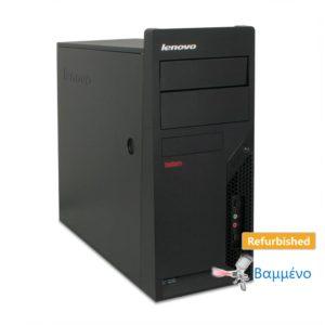 Lenovo M57p Tower C2D-E8400/4GB DDR2/250GB/No ODD Grade A Refurbished PC | Refurbished | elabstore.gr