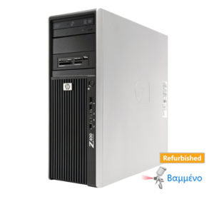HP Z400 Tower Xeon W3530/8GB DDR3/Κάρτα γραφικών/500GB/DVD/7P Grade A+ Workstation Refurbised PC | Refurbished | elabstore.gr