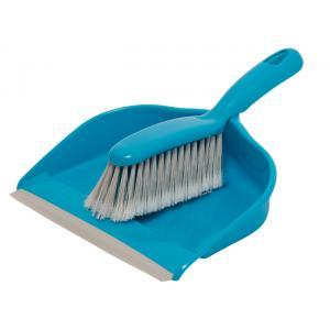 Σετ σκούπα με φαράσι, πλαστικό, μπλε | Οικιακές & Προσωπικές Συσκευές | elabstore.gr