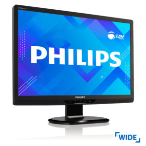 Used Monitor 220EW TFT/Philips/22/1680x1050/Wide/Silver/VGA & DVI-D | Refurbished | elabstore.gr