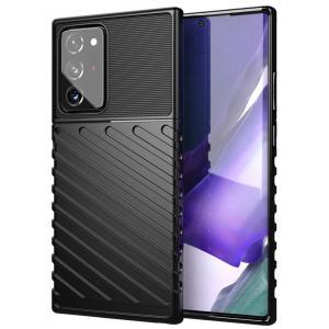 POWERTECH Θήκη Carbon MOB-1585 για Samsung Note 20, μαύρη   Αξεσουάρ κινητών   elabstore.gr